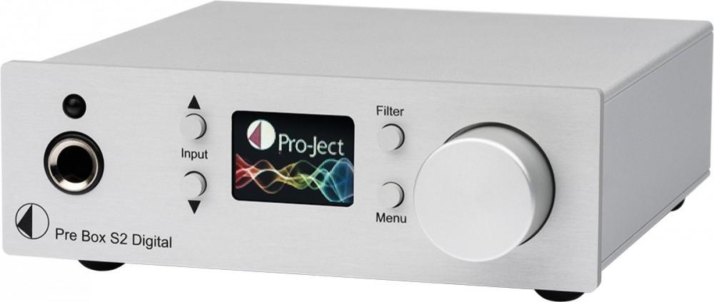 Pro-Ject Pre Box Digital S2 silver