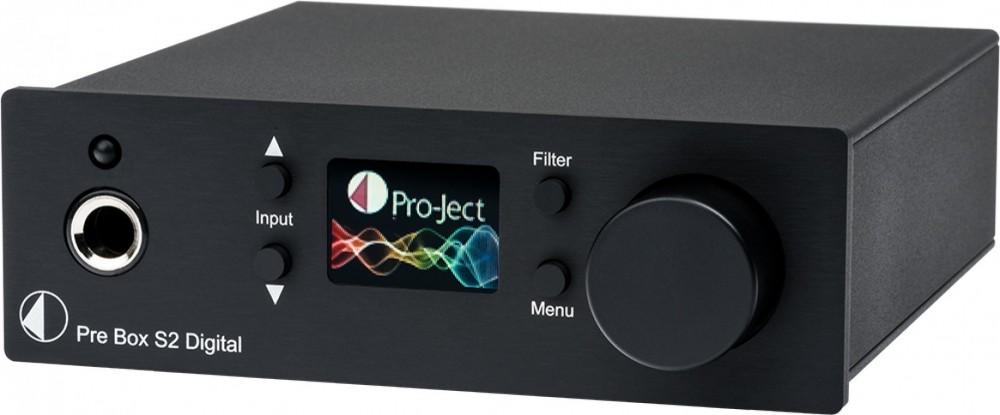 Pro-Ject Pre Box Digital S2 svart