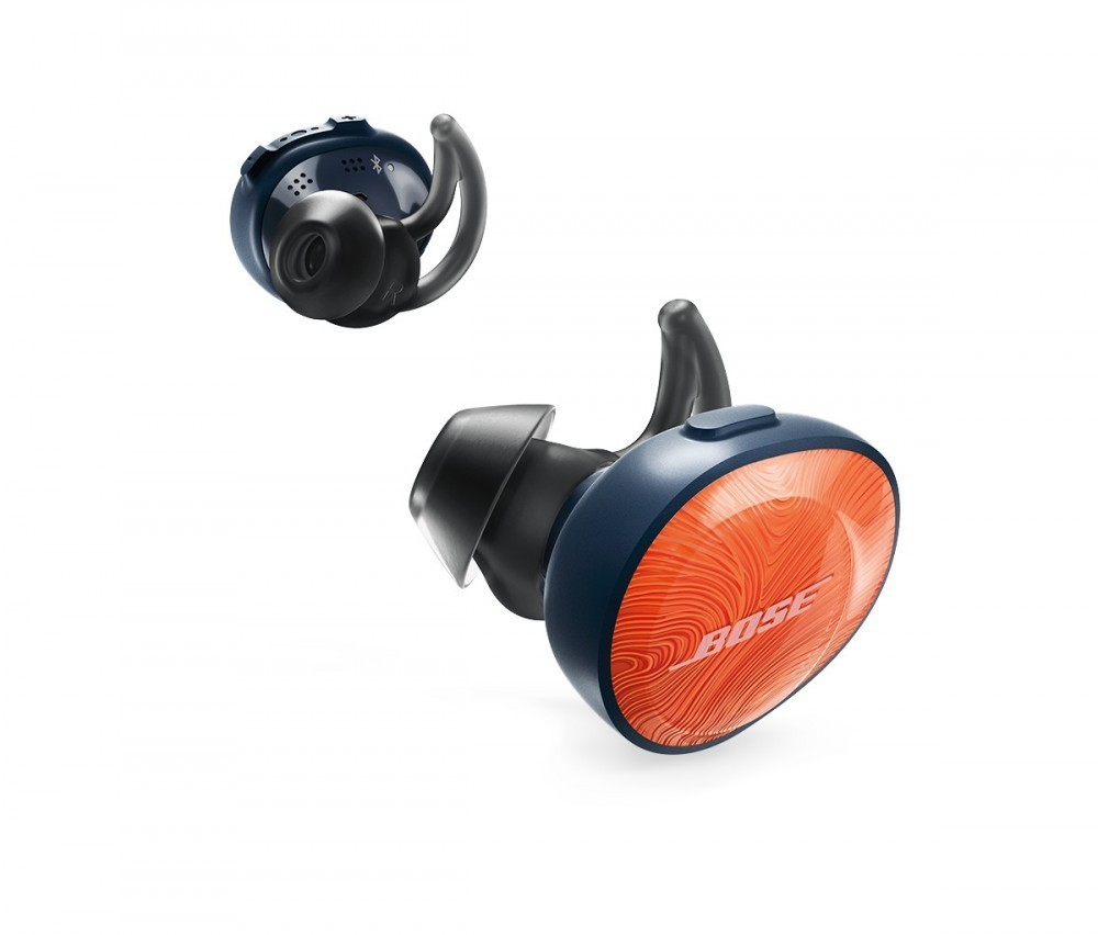 Bose SoundSport® Free trådlösa hörlurar Bright Orange/Midnight Blue