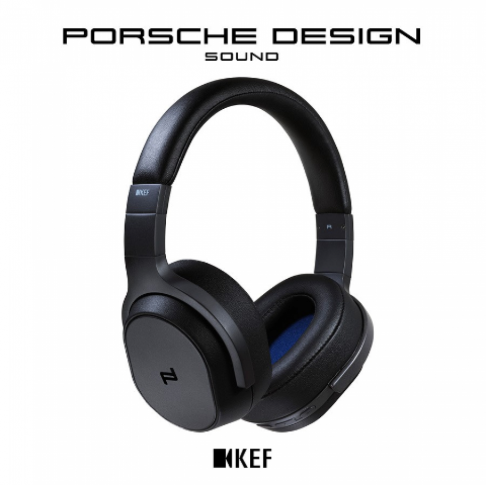 KEF Space One - Porsche Design Svart
