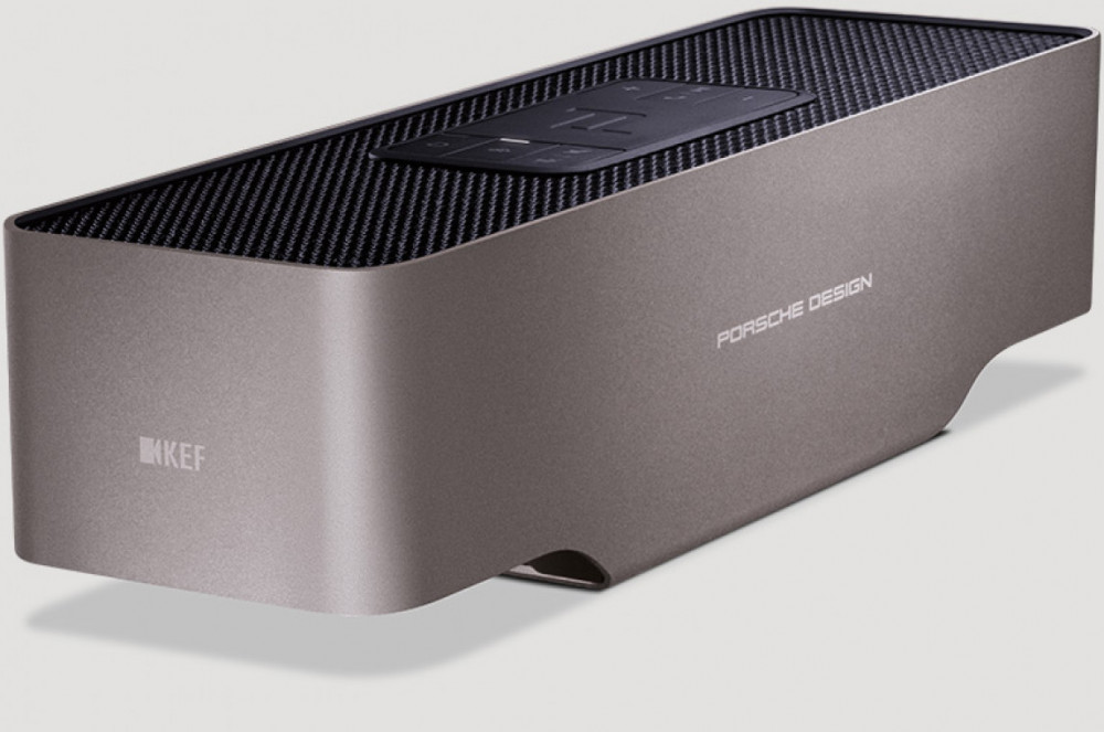 KEF Porsche Design Gravity One Silver