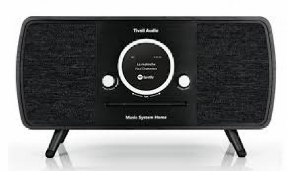 Tivoli Audio Music System Home Svart