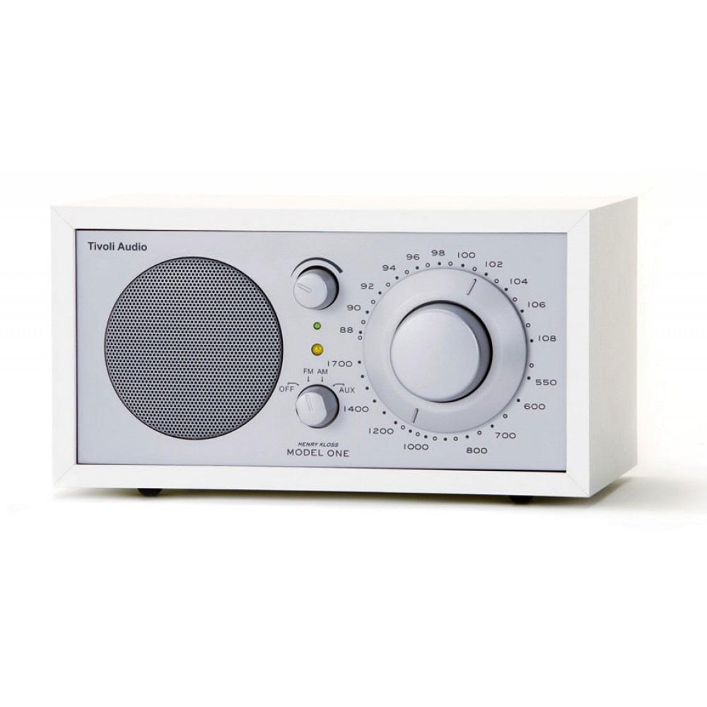 Tivoli Audio Model One Vit/Silver