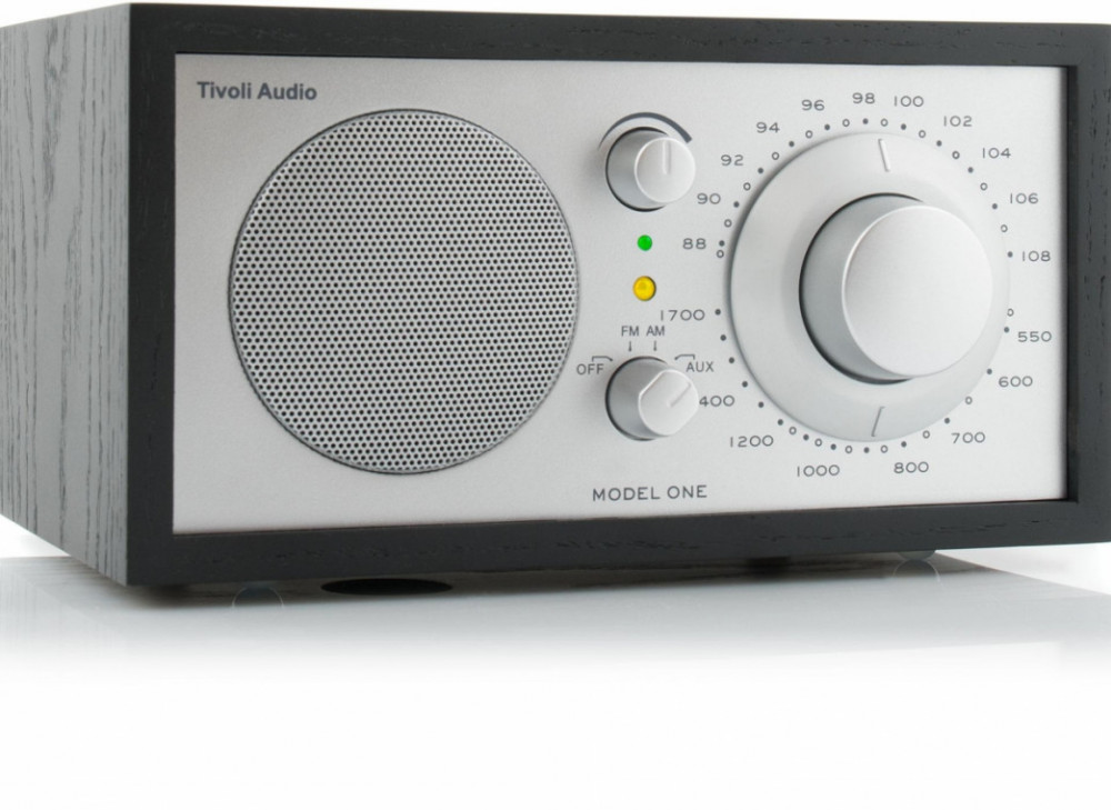 Tivoli Audio Model One Svart/Silver