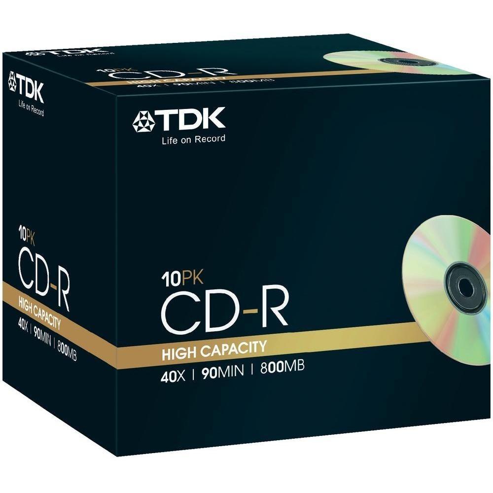 TDK TDK CD-R 90min 800MB 10-pack