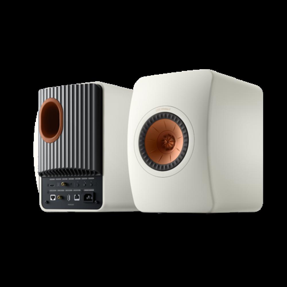 KEF LS50 Wireless II Mineral White