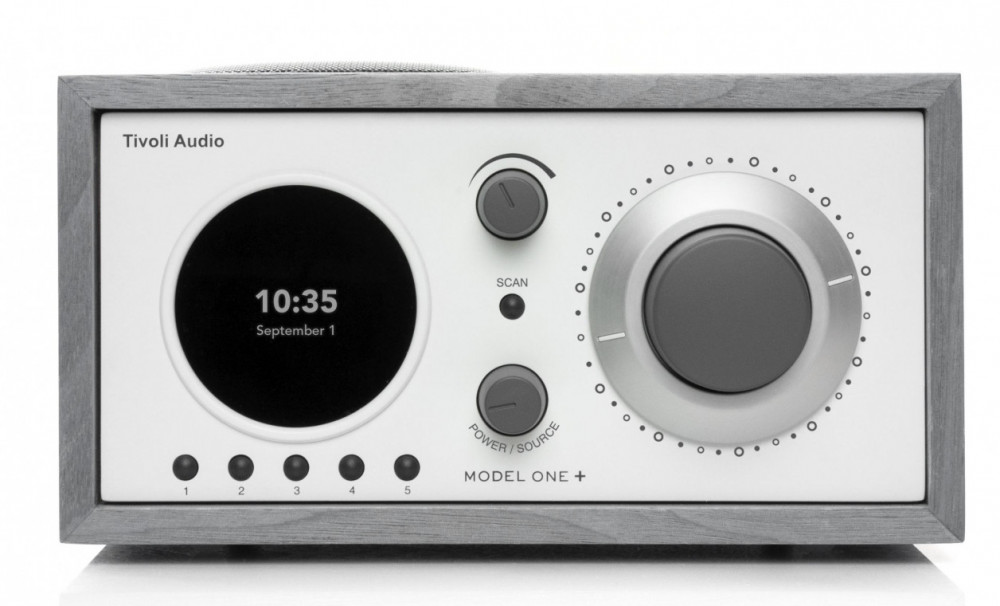 Tivoli Audio Model One + Grå/Vit