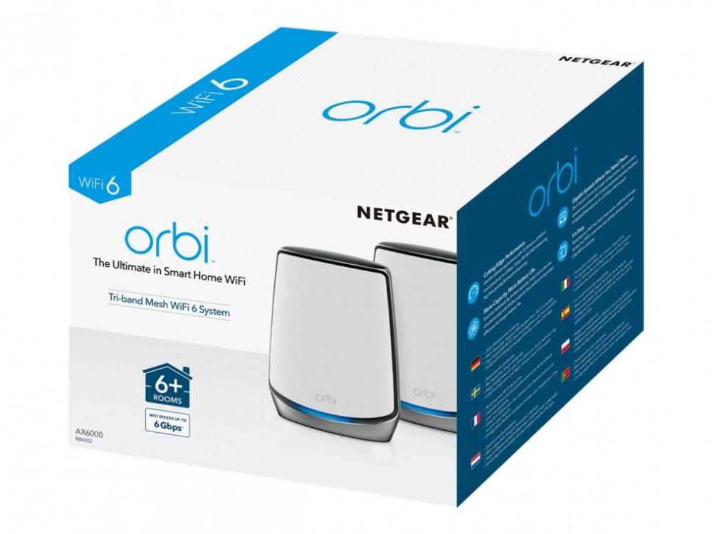 Netgear RBK852 Orbi WiFi 6 2-Pack